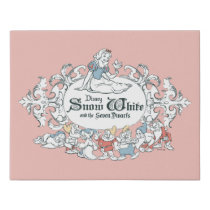 Snow White and the Seven Dwarfs | Fairest of All Faux Canvas Print