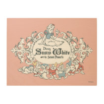 Snow White and the Seven Dwarfs | Fairest of All Wood Wall Art