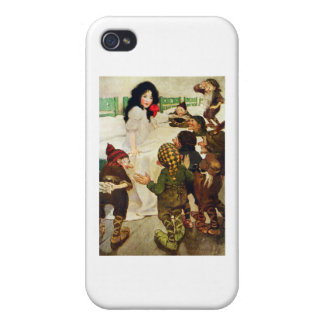 Snow White and the Seven Dwarfs iPhone 4 Cases