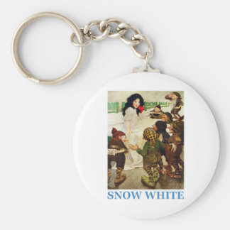 Snow White and The Seven Dwarfs Keychain