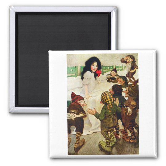 Snow White and the Seven Dwarfs Magnet