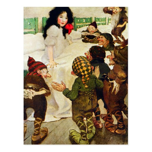 Snow White and the Seven Dwarfs Postcards