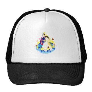 Snow White and the Seven Dwarfs Vintage WPA Print Hat