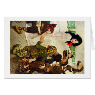 Snow White and the Seven Dwarves Card