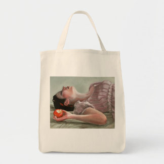 Snow White Canvas Bag