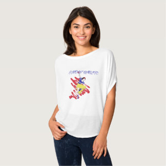 Snow White Ballet Performance Shirt