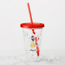 Snow White | Besties Rule - Add Your Name Acrylic Tumbler