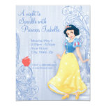 Snow White Birthday Invitation Custom Invites