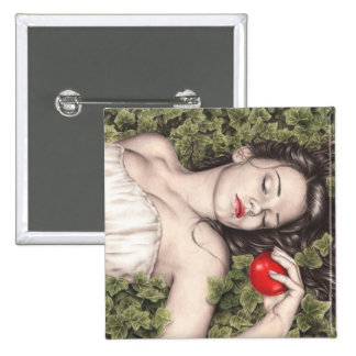 Snow White Button