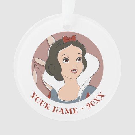 Snow White Captured Moment Ornament