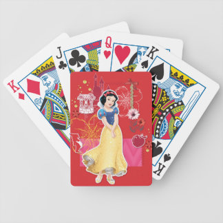 Snow White - Cheerful and Caring Bicycle Playing Cards