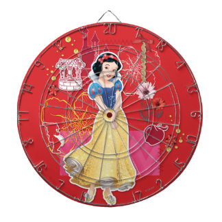 Snow White - Cheerful and Caring Dartboard