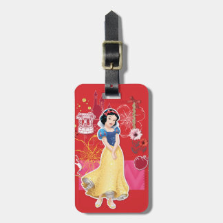 Snow White - Cheerful and Caring Tag For Luggage