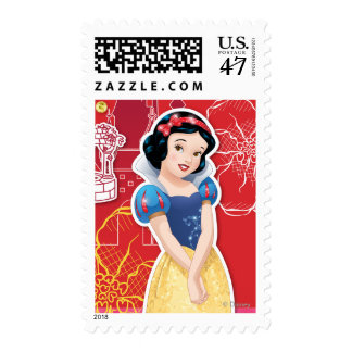 Snow White - Cheerful and Caring Postage