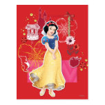 Snow White - Cheerful and Caring Postcard