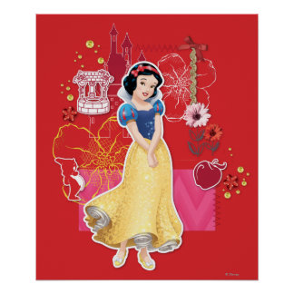 Snow White - Cheerful and Caring Poster