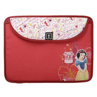 Snow White - Cheerful and Caring Sleeve For MacBook Pro