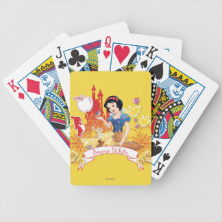 Snow White - Compassion 2 Bicycle Playing Cards