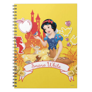 Snow White - Compassion 2 Spiral Notebook