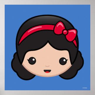 Snow White Emoji Poster