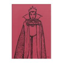 Snow White | Evil Queen - Vintage Villain Acrylic Print