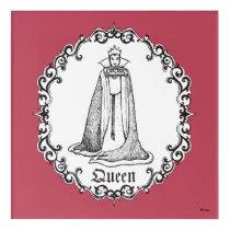 Snow White   Evil Queen - Vintage Villain Acrylic Wall Art