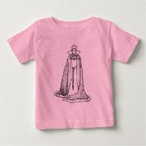 Snow White   Evil Queen - Vintage Villain Baby T-Shirt