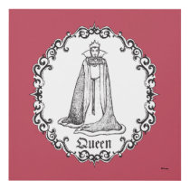 Snow White | Evil Queen - Vintage Villain Panel Wall Art