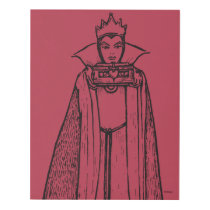 Snow White   Evil Queen - Vintage Villain Panel Wall Art