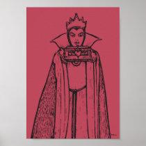 Snow White   Evil Queen - Vintage Villain Poster
