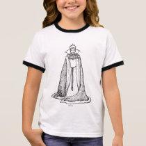 Snow White   Evil Queen - Vintage Villain Ringer T-Shirt