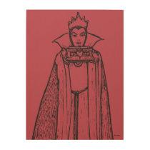 Snow White   Evil Queen - Vintage Villain Wood Wall Decor