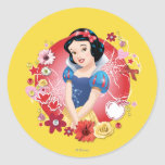 Snow White - Fairest In The Land Classic Round Sticker