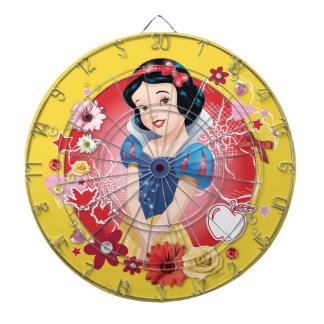 Snow White - Fairest In The Land Dartboard With Darts