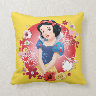 Snow White - Fairest In The Land Throw Pillow