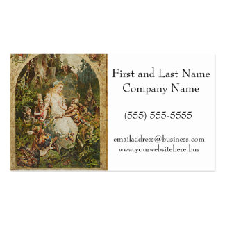 Snow White German Fairy Tale Illustration Business Card