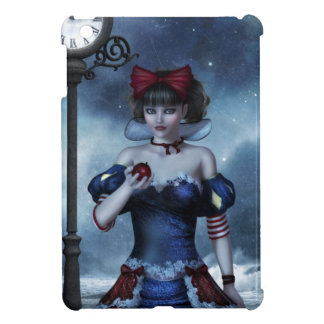 Snow White Grunge iPad Mini Covers