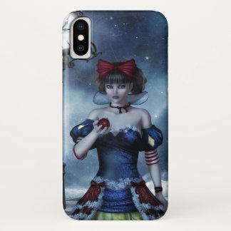 Snow White Grunge iPhone X Case