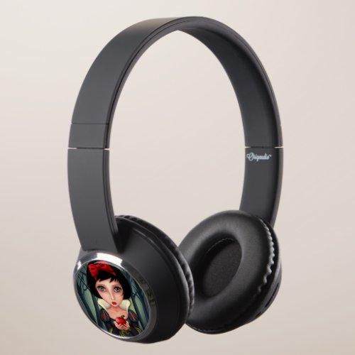 Snow White Headphones
