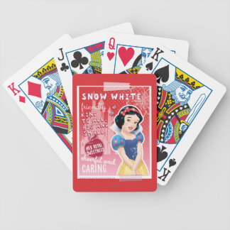 Snow White - Her Royal Sweetness Bicycle Playing Cards