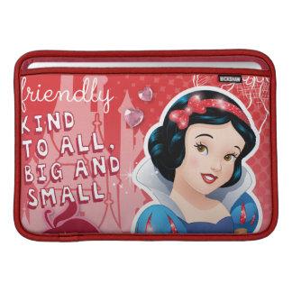 Snow White - Her Royal Sweetness MacBook Sleeve