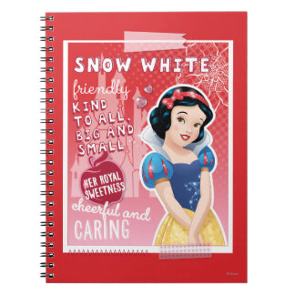 Snow White - Her Royal Sweetness Spiral Notebook