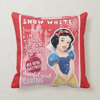 Snow White - Her Royal Sweetness Throw Pillow