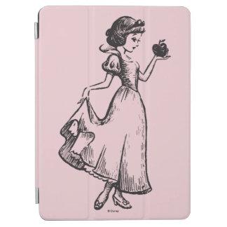 Snow White | Holding Apple - Elegant Sketch iPad Air Cover