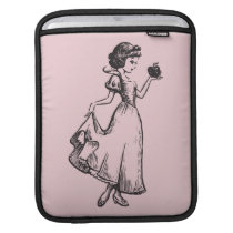 Snow White | Holding Apple - Elegant Sketch Sleeve For iPads
