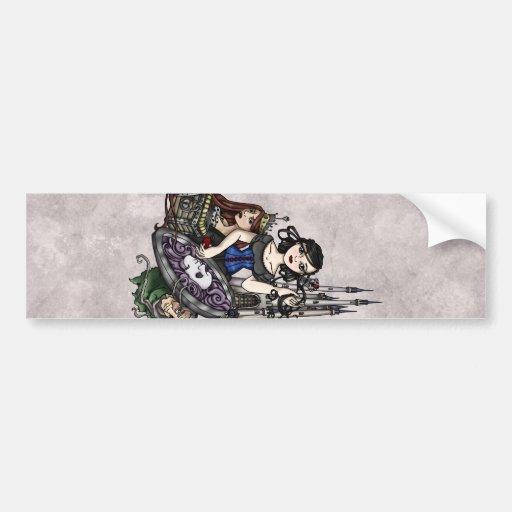 Snow White II Bumper Stickers