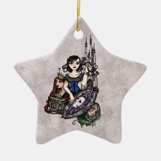 Snow White II Ceramic Ornament