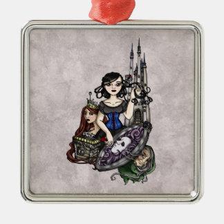 Snow White II Metal Ornament