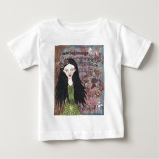 Snow White in the Forest Baby T-Shirt