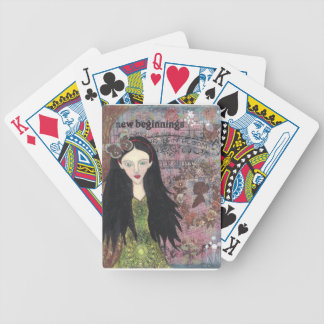 Snow White in the Forest Bicycle Playing Cards